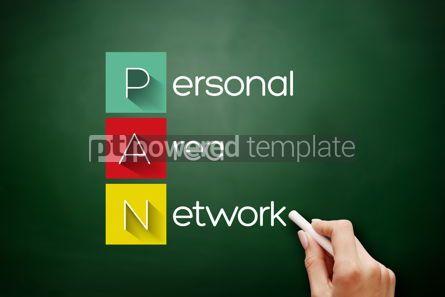 Business: PAN - Personal Area Network acronym on blackboard #17631
