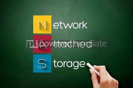 Business: NAS - Network Attached Storage acronym #17635
