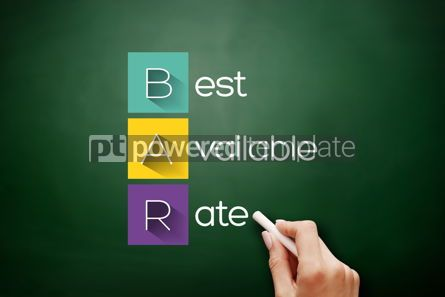 Business: BAR - Best Available Rate acronym business concept #17647