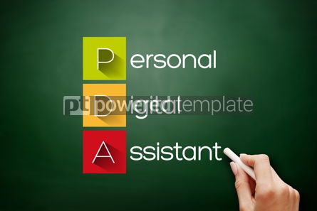 Business: PDA - Personal Digital Assistant acronym #17655