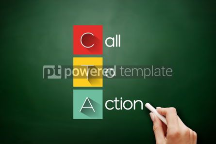Business: CTA - Call To Action acronym business concept #17693