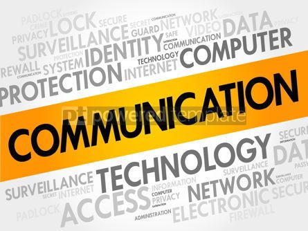 Business: COMMUNICATION word cloud #17697