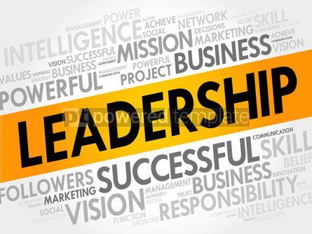 Business: Leadership Word Cloud #17703