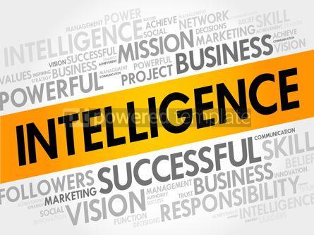 Business: Intelligence word cloud #17706