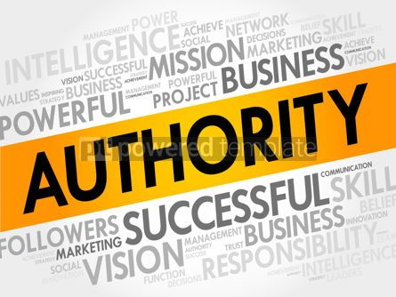 Business: AUTHORITY word cloud #17710