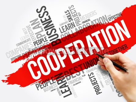 Business: Cooperation word cloud collage business concept #17719