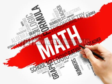 Business: Math word cloud collage education concept #17726