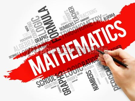Business: Mathematics word cloud collage #17727