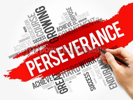 Business: Perseverance word cloud collage #17733