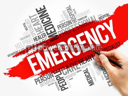 Business: Emergency word cloud collage healthcare concept #17739