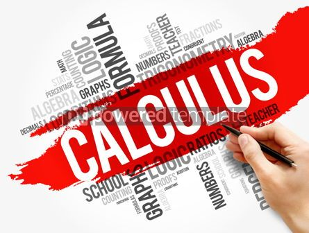 Business: Calculus word cloud collage education concept #17748