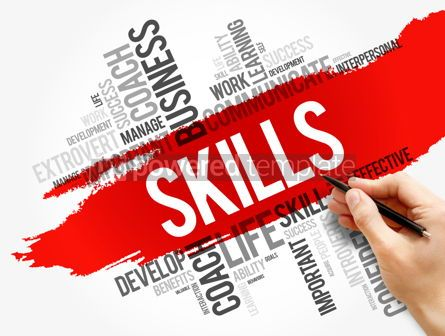 Business: SKILLS word cloud business concept #17751