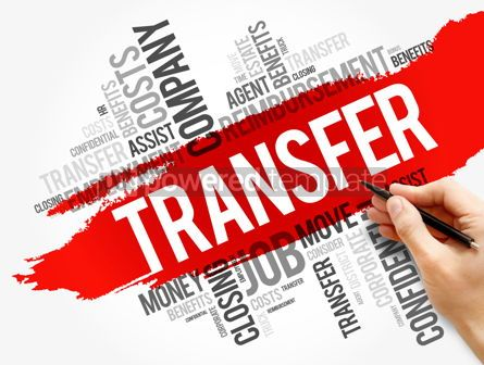 Business: Transfer word cloud collage business concept #17753