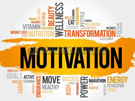Business: MOTIVATION word cloud #17769