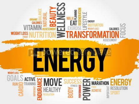Business: ENERGY word cloud fitness sport #17777