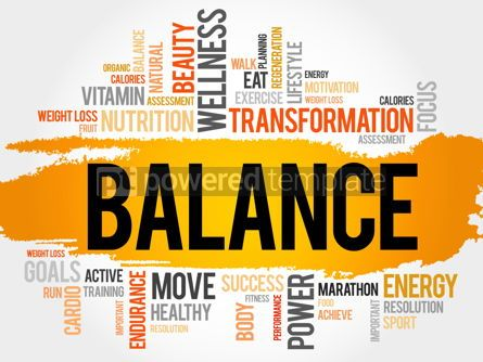 Business: BALANCE word cloud fitness #17781