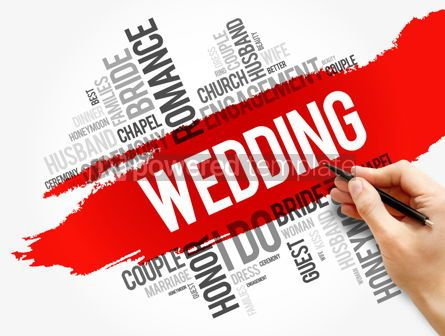 Business: Wedding word cloud collage social concept #17798