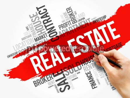 Business: Real Estate word cloud collage business concept #17810