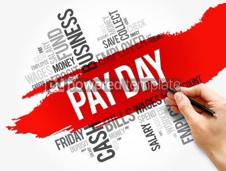 Business: Pay Day word cloud collage business concept #17813