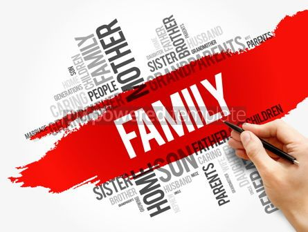 Business: Family word cloud collage social concept #17814