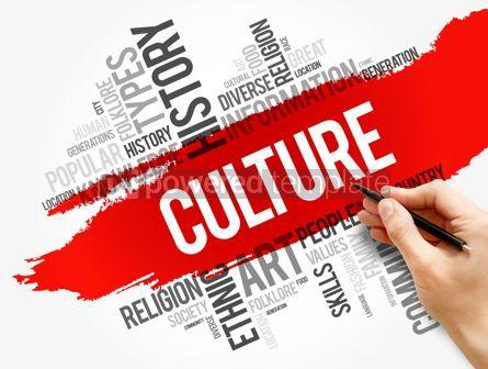 Business: Culture word cloud collage social concept #17829