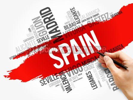 Business: List of cities in Spain word cloud #17858
