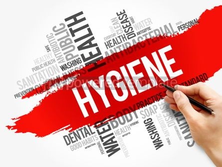 Business: Hygiene word cloud collage health concept #17862