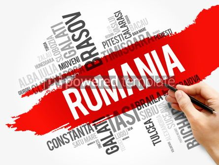 Business: List of cities in Romania word cloud collage #17863