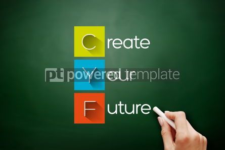 Business: CYF - Create Your Future acronym business concept #17867
