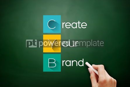 Business: CYB - Create Your Brand acronym business concept #17870