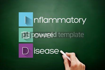 Business: IBD - Inflammatory Bowel Disease acronym concept #17879