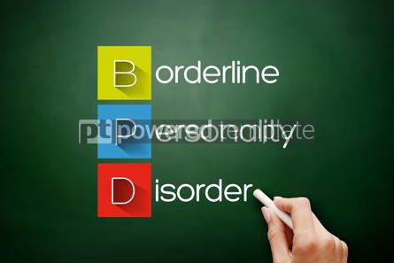 Business: BPD - Borderline Personality Disorder acronym concept #17881