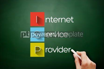 Business: ISP - Internet Service Provider acronym concept #17884
