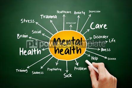 Business: Mental health mind map flowchart health concept #17900