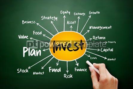 Business: Invest mind map flowchart business concept #17904