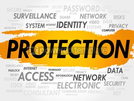 Business: PROTECTION word cloud #18001