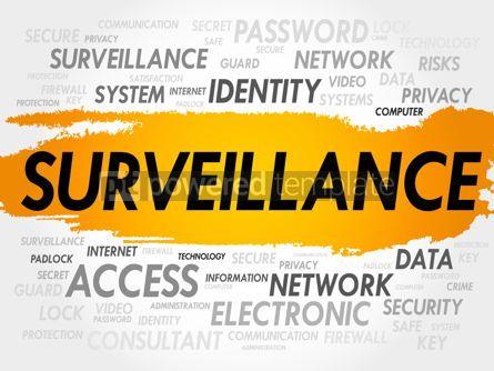 Business: Surveillance word cloud #18002