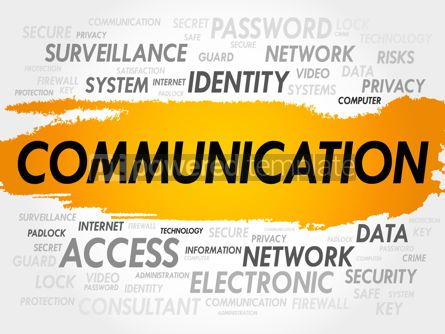 Business: COMMUNICATION word cloud #18005