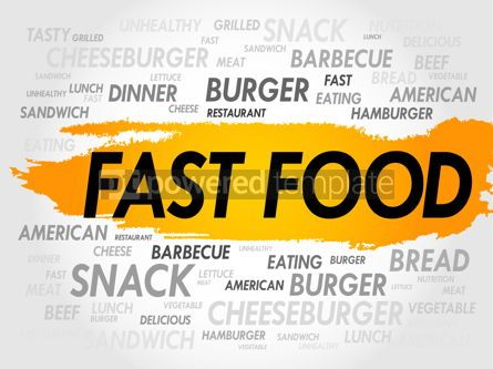 Business: FAST FOOD word cloud #18007