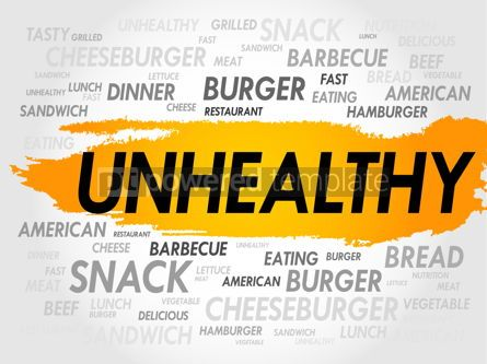 Business: UNHEALTHY word cloud #18009
