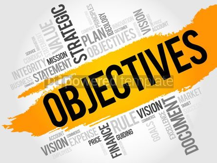 Business: Objectives word cloud #18012