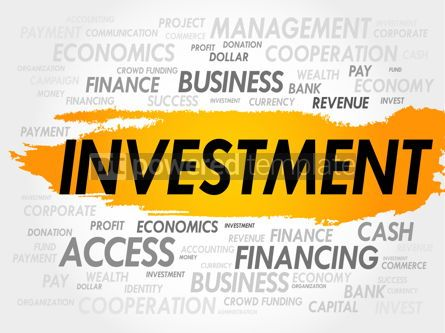 Business: INVESTMENT word cloud #18017