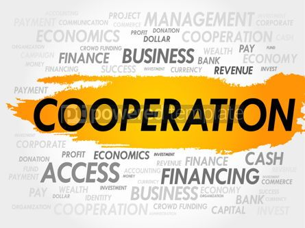 Business: COOPERATION word cloud #18018