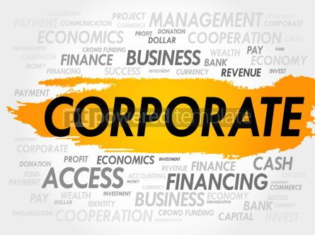 Business: CORPORATE word cloud #18020