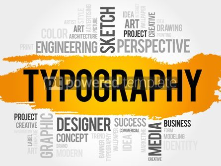 Business: TYPOGRAPHY word cloud #18024