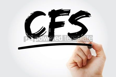 Business: CFS - Consolidated Financial Statement acronym with marker busi #18095