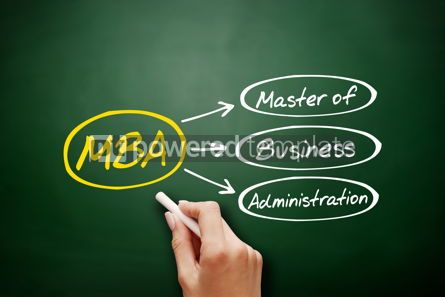 Business: MBA - Master of Business Administration acronym #18172