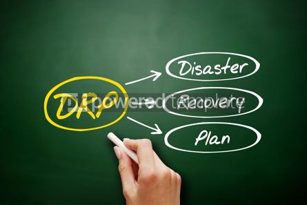 Business: DRP - Disaster Recovery Plan acronym on blackboard #18175