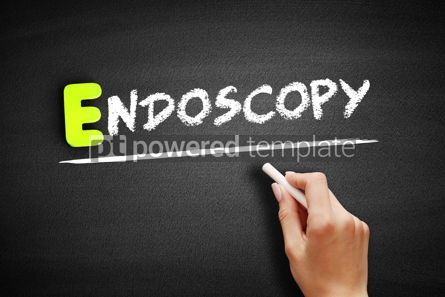Business: Hand writing endoscopy on blackboard concept background #18179
