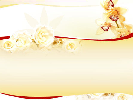 Holiday/Special Occasion: Flowers PowerPoint Template #00001